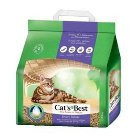 Наполнитель древесный комкующийся Cat's Best Smart Pellets 5 л, 2.5 кг