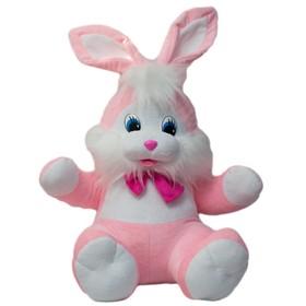 Мягкая игрушка «Заяц с бантом», 70 см