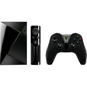 Приставка Смарт ТВ/Игровая консоль NVidia SHIELD,4К,3Гб,16Гб,Wi-Fi,LAN,USB,AndroidTV,черная   515378 Ош