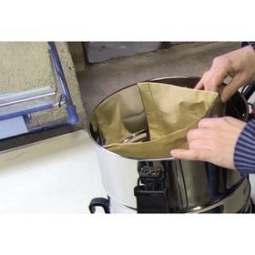 Мешок-пылесборник бумажный к строительным пылесосам Einhell 2351159, 12 л, 5 шт