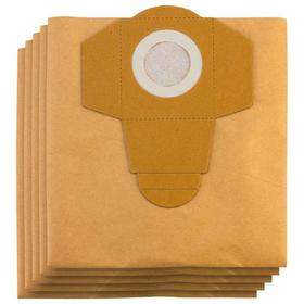 Мешок-пылесборник бумажный к строительным пылесосам Einhell 2351152, 20 л, 5 шт