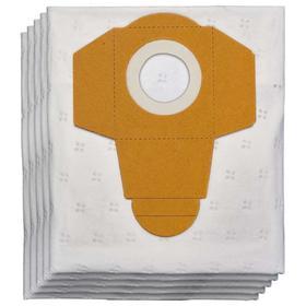 Мешок-пылесборник синтетический к строительным пылесосам Einhell 2351195, 40 л, 5 шт