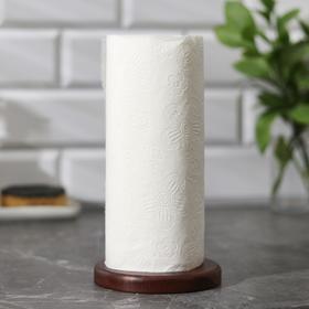Держатель для бумажных полотенец «Тропики», 21×12 см, акация