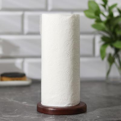 Держатель для бумажных полотенец «Тропики», 21×12 см, акация - Фото 1