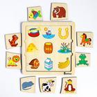 Пазл-ассоциации «Животные», 9 карточек, 21×21×0.6 cм - Фото 3