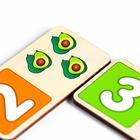 Домино «Фрукты-овощи»15 карточек размером: 7.7×3.7×0.3 см, 22.5×13.5×5 см - Фото 3