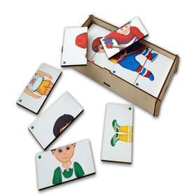 Игровой набор, составные картинки «Спорт-2»