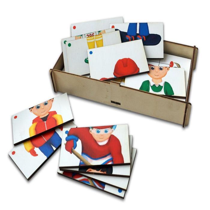 Игровой набор, составные картинки «Спорт-3»
