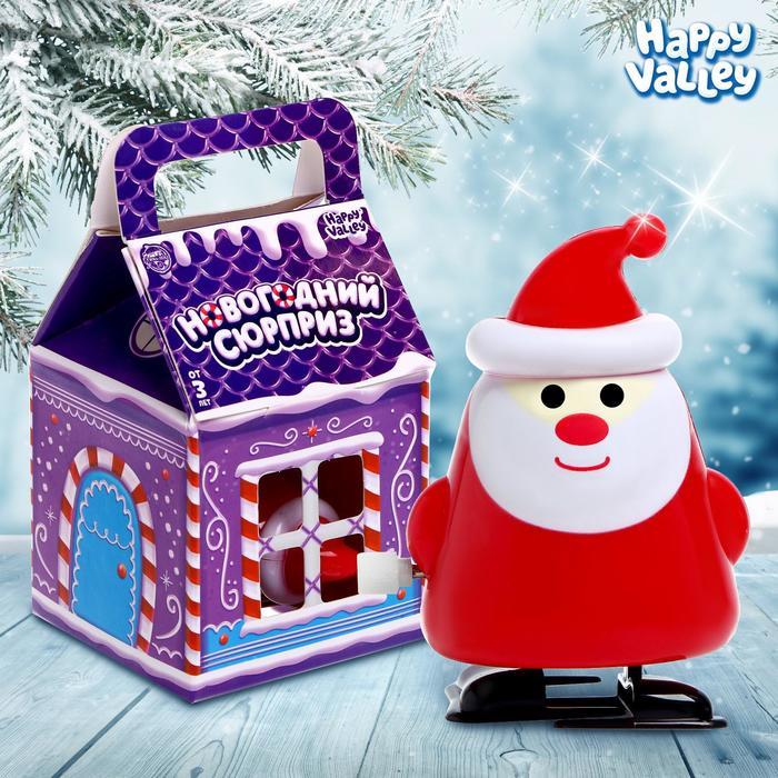 Игрушка заводная Дед Мороз