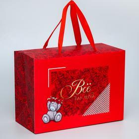 "Пакет-коробка ""Всё для тебя"", Me To You, 20 x 28 x 13 см"
