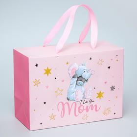 "Пакет-коробка ""I love you Mom"", Me To You, 20 x 28 x 13 см"