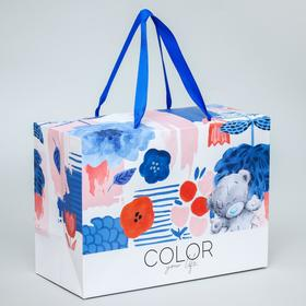 "Пакет-коробка ""Color your life"", Me To You, 20 x 28 x 13 см"