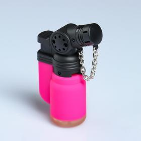 Горелка газовая, с пьезоподжигом,  2.4х4.6х7.8 см, микс Ош