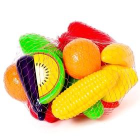Набор «Фрукты-овощи», 16 предметов