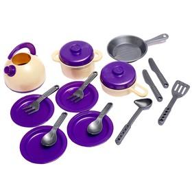 Набор посуды кухонной, 18 предметов, МИКС