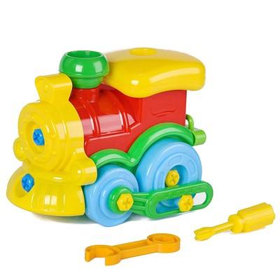 Игрушка «Конструктор-паровозик» - Фото 1