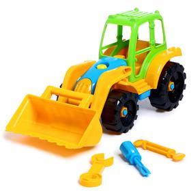 Игрушка «Конструктор-трактор с ковшом»