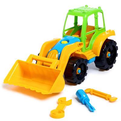 Игрушка «Конструктор-трактор с ковшом» - Фото 1