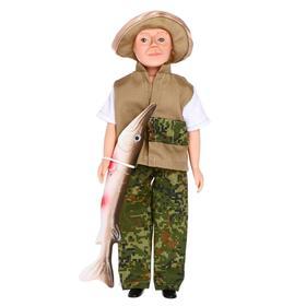 Кукла «Борис-рыбак», 30 см