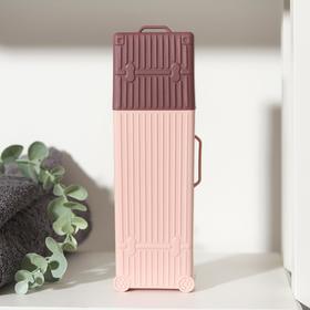 Футляр для зубной щётки и пасты «Чемодан», 20,5 см, цвет МИКС Ош