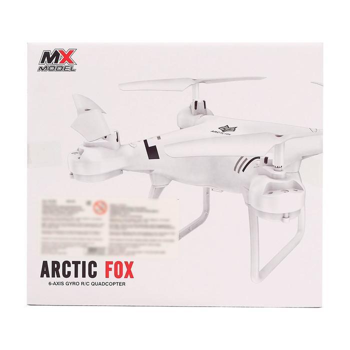 Квадрокоптер Arctic Fox, камера, передача изображения на смартфон, Wi-Fi