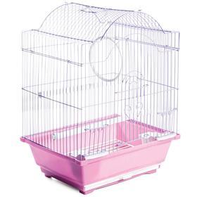 Клетка Triol для птиц, эмаль, 30 х 23 х 39 см, микс цветов Ош