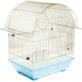 Клетка Triol для птиц, 34,5 х 26 х 44 см, золото Ош