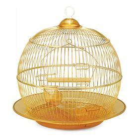 Клетка Triol для птиц, 35 х 33 см, золото Ош