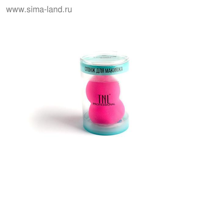 Спонж-яйцо Blender Prof TNL, клиновидный, цвет розовый, в пластиковой упаковке, влажный способ нанесения