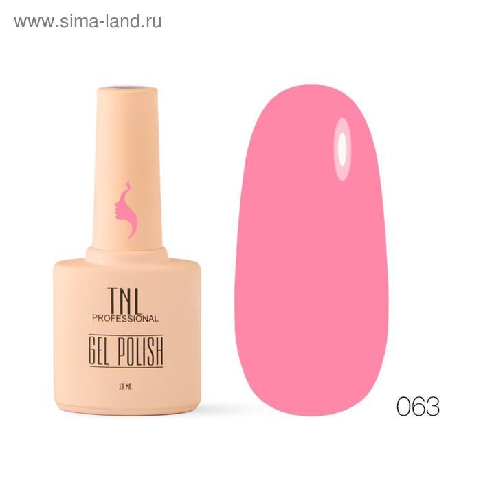 Гель-лак TNL 8 Чувств, №063 розовый лимонад, 10 мл