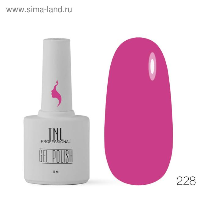 Гель-лак TNL 8 Чувств, №228 ягодное парфе, 10 мл
