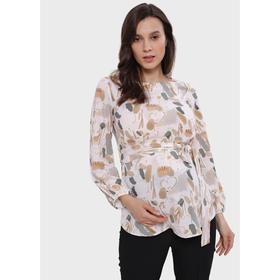 Блузка для беременных «Мэрион», размер 48, цвет белый Ош