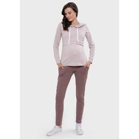 Спортивный костюм для беременных и кормления «Луиза», размер 42, цвет коричневый Ош