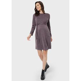 Платье для беременных «Симона», размер 46, цвет фиолетовый Ош