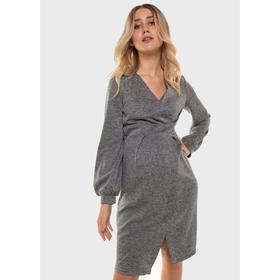Платье для беременных «Элла», размер 44, цвет бежевый Ош