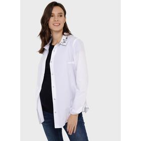 Рубашка для беременных «Долорес», размер 44, цвет белый Ош