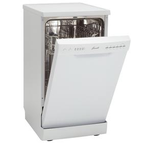 Посудомоечная машина Fornelli FS 45 RIVA P5 WH, класс А++, 9 комплектов, 6 режимов Ош