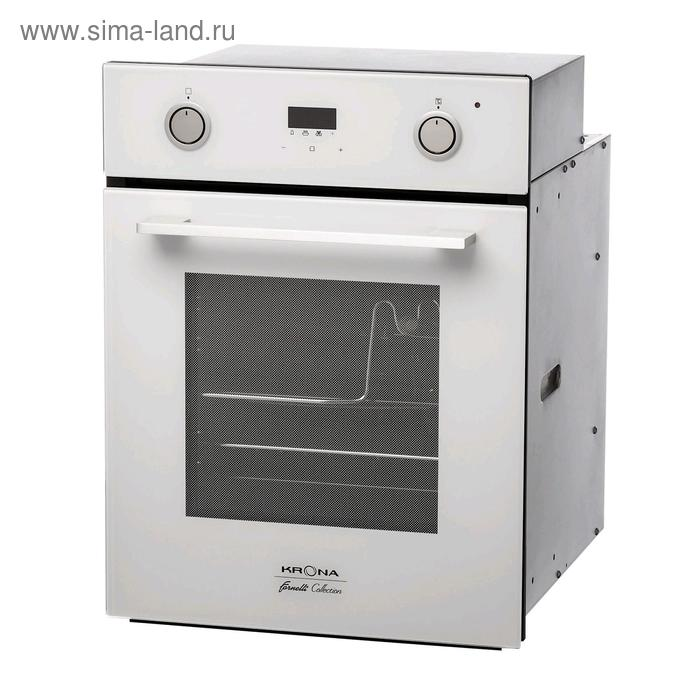 Духовой шкаф Krona SONATA 45 WH, электрический, 48 л, класс А, белый