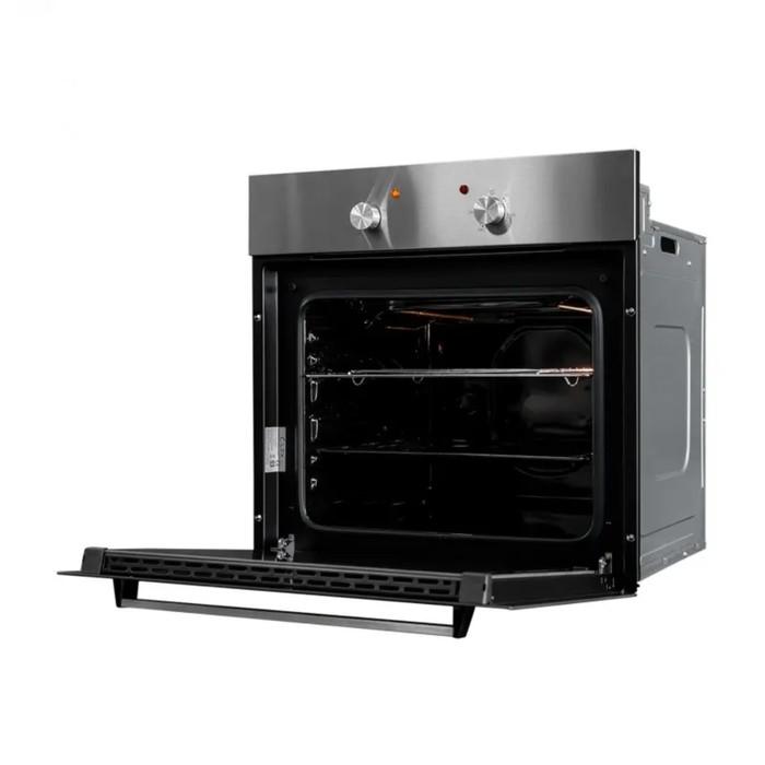 Духовой шкаф Lex EDM 040 IX, электрический, 62 л, класс А, серебристый