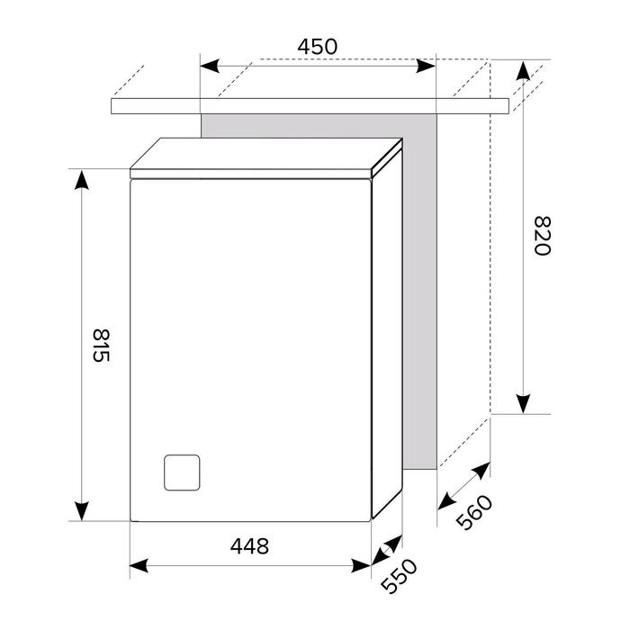 Посудомоечная машина Lex PM 4553, встраиваемая, класс А++, 11 комплектов, 5 режимов