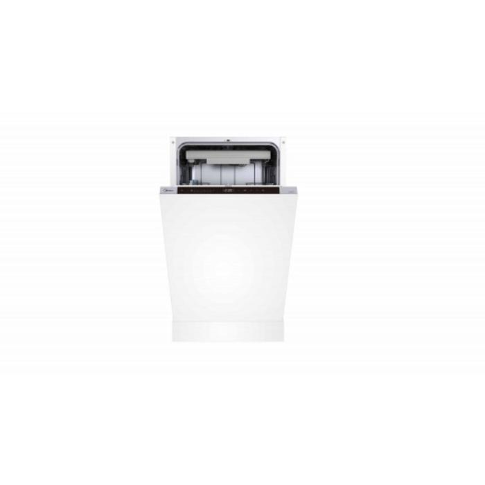 Посудомоечная машина Midea MID45S970, встраиваемая, класс А++, 11 комплектов, 8 режимов