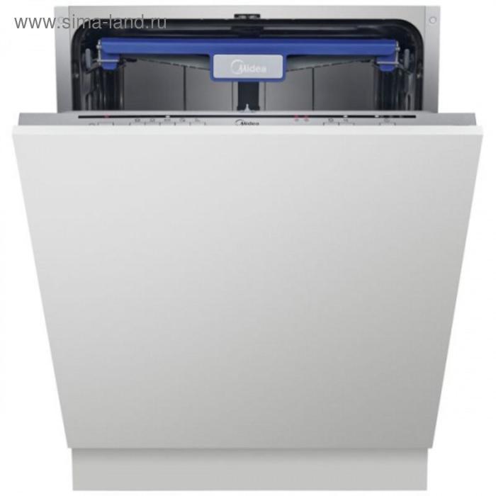 Посудомоечная машина Midea MID60S110, встраиваемая, класс А, 14 комплектов, 5 режимов