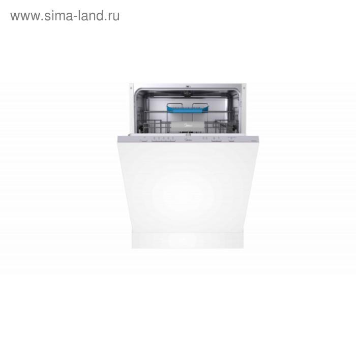 Посудомоечная машина Midea MID60S130, встраиваемая, класс А++, 14 комплектов, 5 режимов