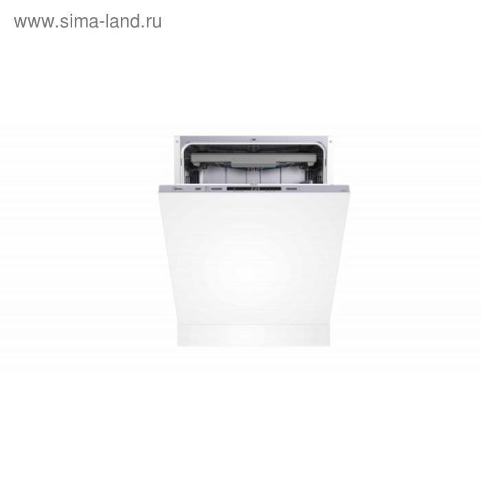 Посудомоечная машина Midea MID60S430, встраиваемая, класс А++, 14 комплектов, 6 режимов