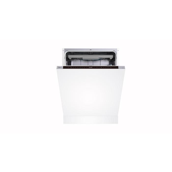 Посудомоечная машина Midea MID60S710, встраиваемая, класс А++, 14 комплектов, 8 режимов