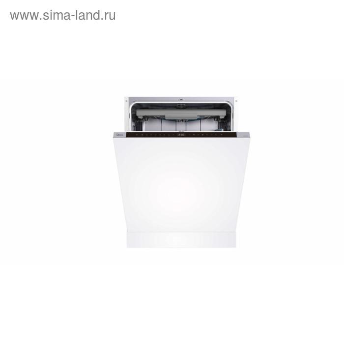 Посудомоечная машина Midea MID60S970, встраиваемая, класс А++, 14 комплектов, 8 режимов