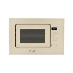 Встраиваемая микроволновая печь Lex BIMO 20.01 IVORY, 700 Вт, 20 л, 5 режимов, гриль Ош