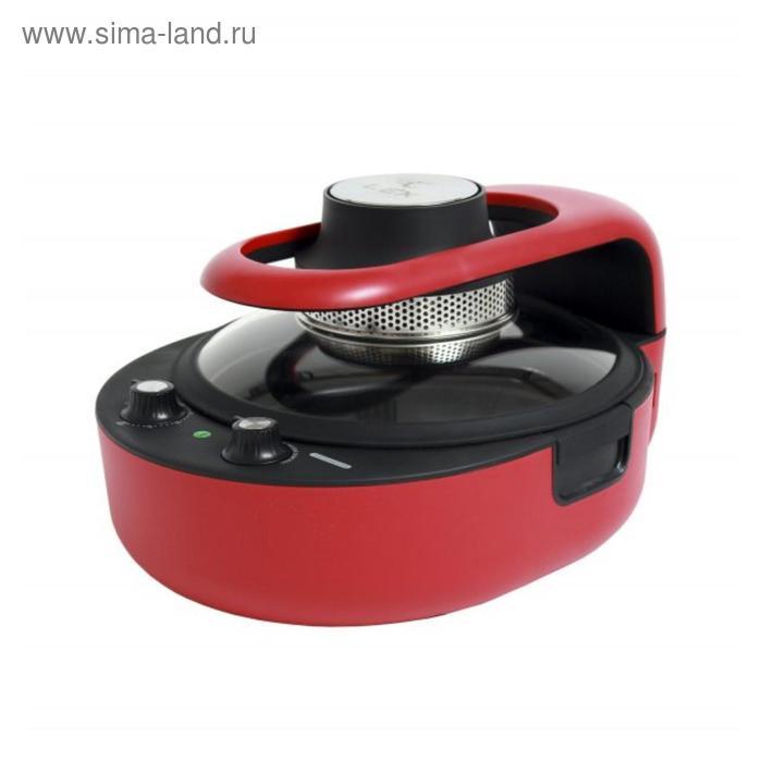 Аэрогриль Lex MERCURY RED, 800 Вт, 3 л, регулировка t°, красная