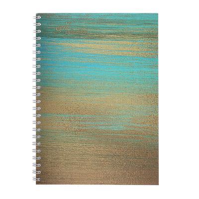 Колледж-тетрадь А5, 80 листов в клетку, на гребне Gold Collection, обложка мелованный картон, матовая ламинация, блок офсет - Фото 1