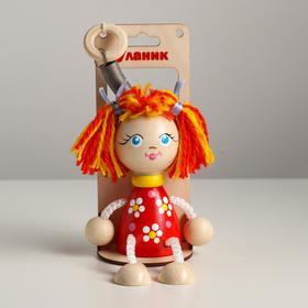 Игрушка-вознесенск «Маша в красном платье» в упаковке